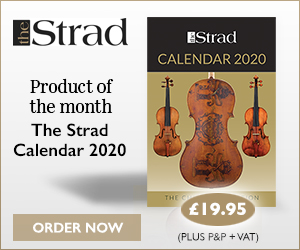 The Strad Calendar 2020 | Product of the month