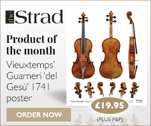 Vieuxtemps' Guarneri 'del Gesù' 1741 poster | Product of the week