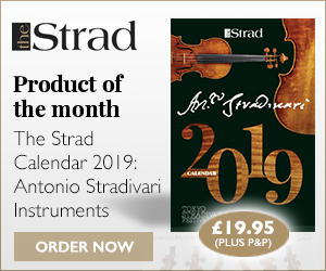 The Strad Calendar 2019: Antonio Stradivari Instruments | Product of the week