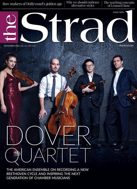 Dover Quartet: The American ensemble on recording a new Beethoven cycle and inspiring the next generation of chamber musicians | November 2020 issue | The Strad